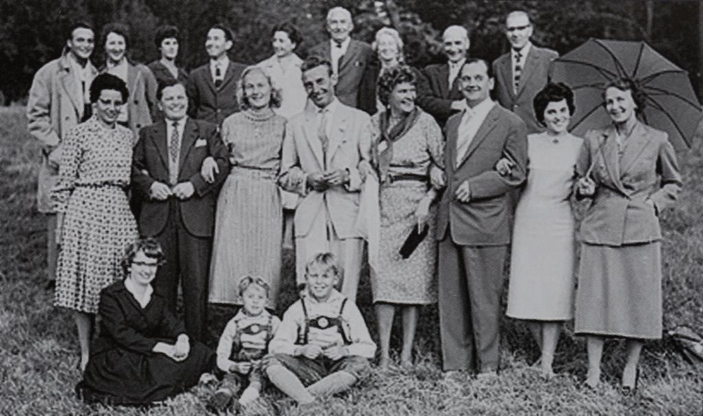 Fotogildenausflug nach Haarkirchen 1960