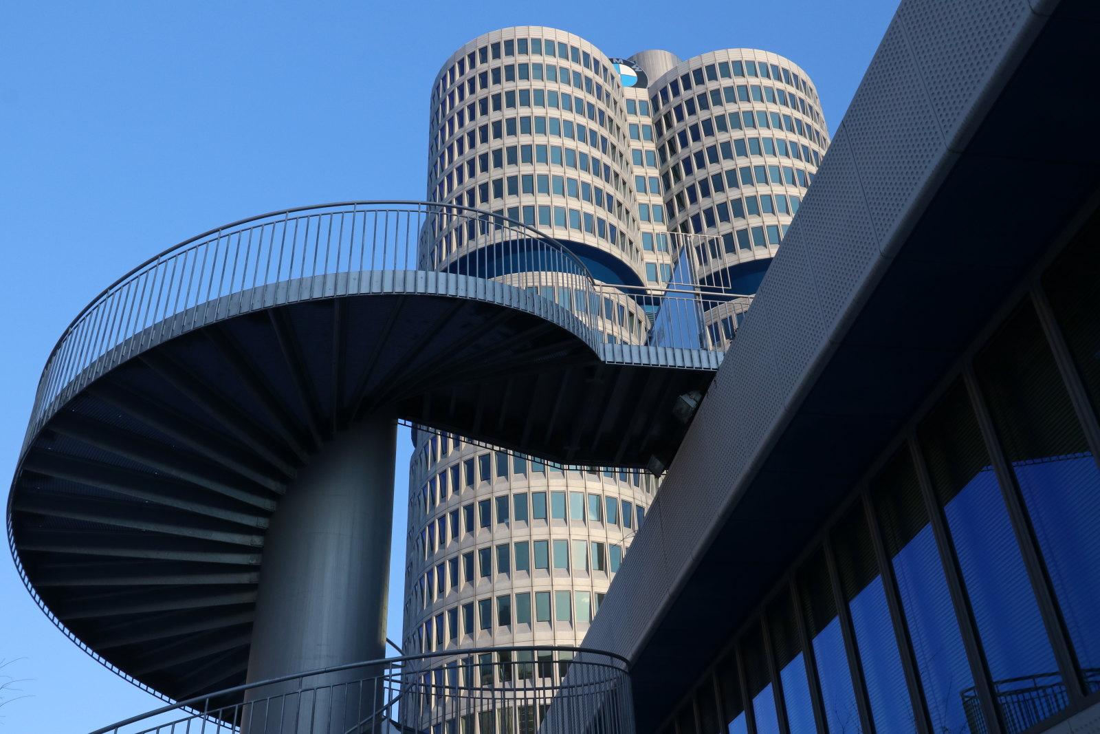 1. Platz: Herbert Zippold - BMW Treppe