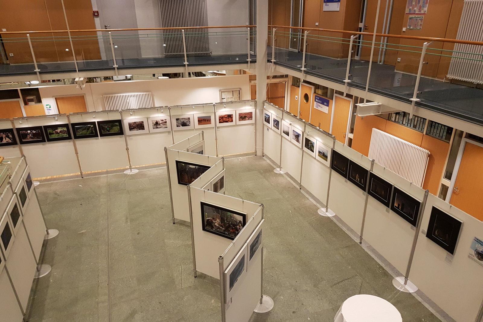 Christian Bauer - Ausstellung im Landratsamt Starnberg 2017